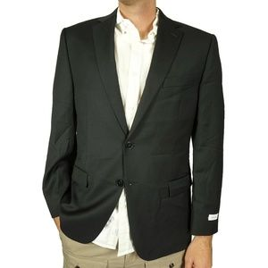 Calvin Klein Mens Blazer Jacket Size 42 L Long